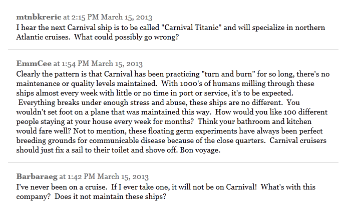 Carnival fail comments 1