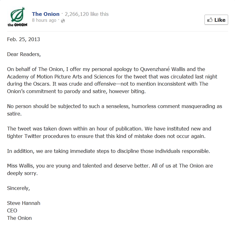 The Onion oscar apology blog post img 1