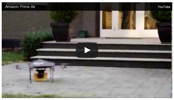 Amazon Prime Air Drone test flight
