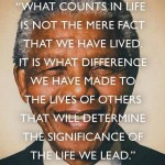 Leadership of Human Dignity-  The Legacy of Nelson Mandela
