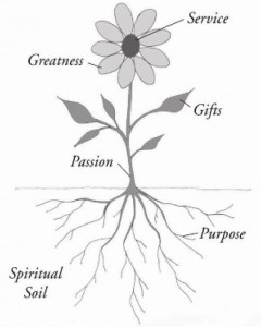 Linda's framework for working spiritually