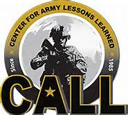 Center of Army's Lessons Learned - Strategic and Operational Analysis