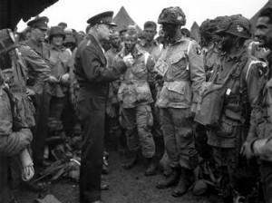 Eisenhower led the strategic decision-making process for the Allies