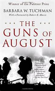Guns of August book on World War 1