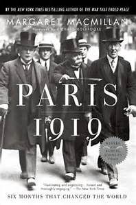 Paris 1919 book cover - book on World War 1