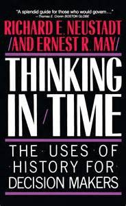 Thinking in time book cover - using history for strategic decision-making