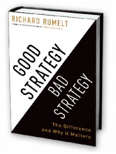 good strategy bad strategy book