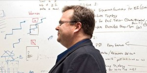 reid hoffman at white board