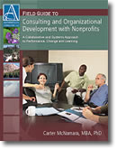Consulting and Organization Development With Nonprofits - Book Cover